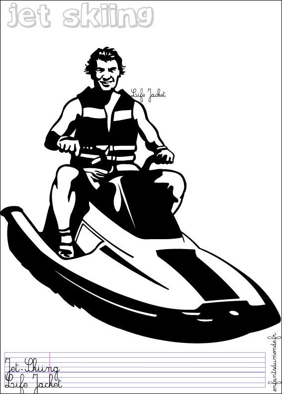 Jet ski dessin - Jet ski dessin ...