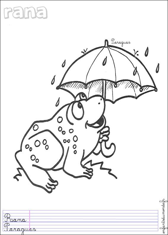 Dessin grenouille conte - Coloriage de grenouille ...