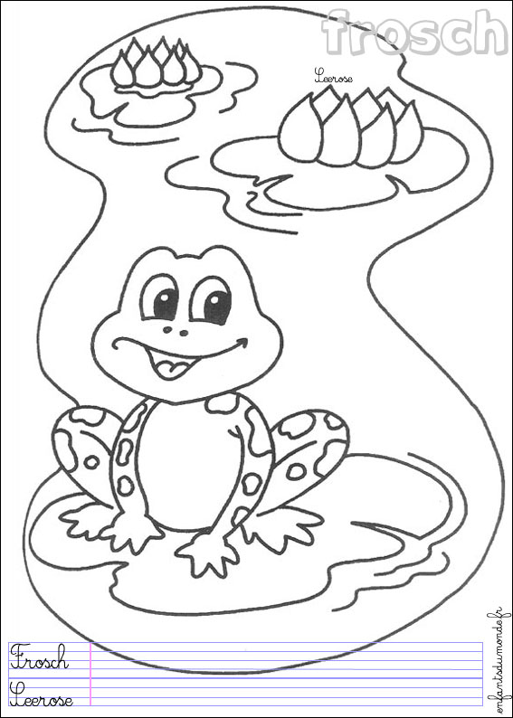 97 coloriage grenouille 1